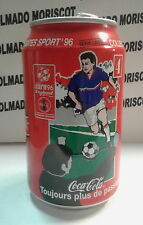 COCA COLA 33cl SPORTS EURO '96 ENGLAND N 3 COCA COLA BEVERAGES FRANCE empty can