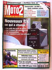 MOTO 2  n°166; Comparatif de 600 à 1200 cm3; Suz SV 1000 N/ Ducati Monster 996