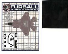 Furball Decals 1/48 LOCKHEED F-35B LIGHTNING Canopy & Wheel Hub Vinyl Mask Set