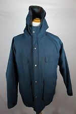 Woolrich Vintage Mens Insulated Blanket Jacket Blue Size XL