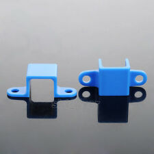 2pcs Blue Block N20 Motor Fixed Frame Mount Bracket For Aircraft Helicopter