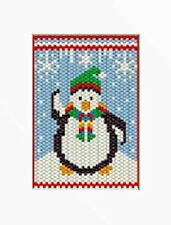 CHILLY CHUBBY PENGUIN PONY BEAD BANNER PATTERN