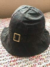 Authentic. Barbour Ladies Classic Trench Wax Hat. Medium . BNWT.