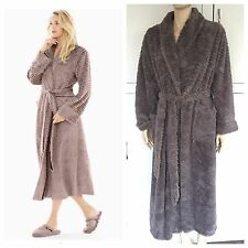 Soma Luxe Marble Robe Spa Soft Silver Gray Shimmer Size Small Medium S M