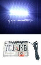LED License Plate Strip 12v White Light Waterproof Motorcycle Flush Clear