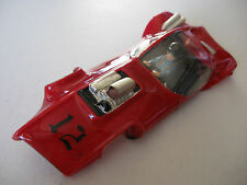 PACTRA Astronaut Rare Red Plastic Body 1/24 Scale Slot cars Cox Classic AMT