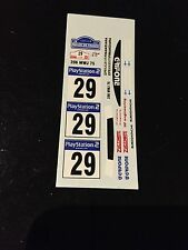 DECALS 1/43 PEUGEOT 206 WRC ROVANPERA RALLYE TOUR DE CORSE 2001 RALLY FRANCE