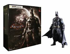 "PLAY ARTS KAI SQUARE ENIX 10"" BATMAN ARKHAM KNIGHT ACTION FIGURES KID STATUE TOY"
