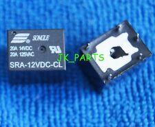 10pcs New SRA-12VDC-CL DC 12V Coil 20A PCB General Purpose Relay 5 Pins SPDT