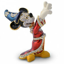 Disney Swarovski Jeweled Sorcerer Mickey Mouse Figurine by Arribas Brothers