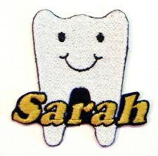 Iron-on Tooth Patch With Name Personalized Free