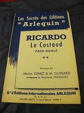 Partition Ricardo Le Costaud Ginez Guinard