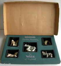 NICE BOXED SET WADE 1st FIRST WHIMSIES  AFRICAN JUNGLE ANIMALS SET 4 1955-1958