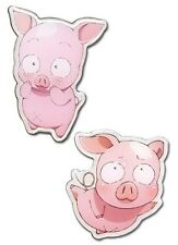 **License** Accel World Haru Pig Avatar Pin Set #50073