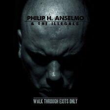 PHIL ANSELMO - WALK THROUGH EXITS ONLY - LP GREEN VINYL NEW 2013 - PANTERA
