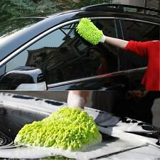 Mitt Microfiber Washing Car Window Home Cleaning Cloth Duster Towel Gloves SY