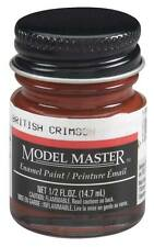 Testors Model Master British Crimson 1/2 oz Enamel Paint 2009 TES2009