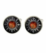 Gothic Shield Mens Cufflinks Ideal Wedding Birthday Or Fathers Day Gift C348