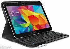 Logitech Ultrathin Black Keyboard Folio Case for Samsung Galaxy Tab 4 10.1""
