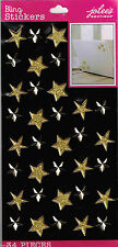 Jolee's All That Bling XL ***GOLD PUFFY STARS & GEMS***