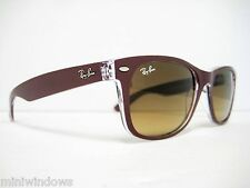 Ray Ban RB2132 605485 Top Matte Bordo/Brown Gradient 55mm NEW AUTHENTIC SUNGLAS