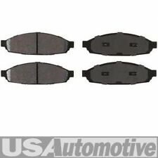 FRONT SEMI-METALLIC DISC BRAKE PADS - LINCOLN AVIATOR 2003 2004 2005
