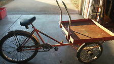PLATFORM TRICYCLE--From TRANS WORLD AIRLINE-- Kansas City missouri