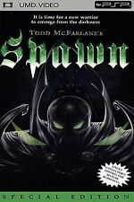 Todd McFarlane's Spawn UMD PSP COMPLETE MOVIE SONY PLAYSTATION PORTABLE
