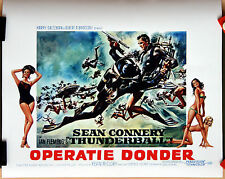 Sean Connery : Terence Young : Thunderball : POSTER