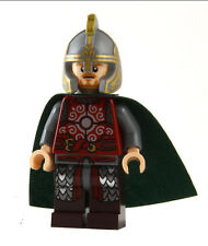 Eomer Rohan Knight Minifigure with Lego sticker Hobbit LOTR Lord of Rings