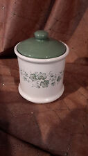 """Corelle Corning - CALLAWAY IVY - 5""""  Coffee Canister  - EUC"""