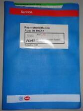Werkstatthandbuch Audi 80 B4 4 Zylinder 1,9 Liter Turbo Dieselmotor ab 1992