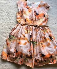 NEXT – GIRLS – HORSE/ ENCHANTED FOREST PARTY DRESS - AGE 4-5 YEARS