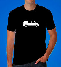 VW T5 t shirt van camper bus clothing dub low gift dad cool choice of colours