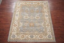 Oriental 8X10 Oushak Hand-Knotted Vegetable Dye Area Rug Wool Carpet
