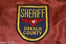 DEKALB COUNTY SHERIFF PATCH GEORGIA , UNITED STATES OF AMERICA