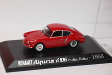 RENAULT ALPINE A106 MILLE MILES 1956 1/43 G41