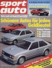 Sport Auto 82/10 Porsche 924 - Toyota Supra 2.8 i - Porsche 956