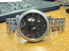 DUBOULE 1620 AUTOMATIC WATCH DATE &  WIND INDICATOR