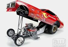 GENE SNOW RAMBUNCTIOUS DODGE CHARGER VINTAGE FUNNY CAR AUTO WORLD 1:18 NHRA DRAG
