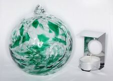 Milford Emerald May Birthstone Night Light Handmade Friendship Glass Globe Gift