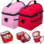 Cooler Lunch Bag Storage Box Tote Insulated Waterproof Thermal Shoulder Picnic
