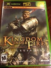 Kingdom Under Fire: The Crusaders (Microsoft Xbox, 2004) Complete