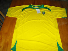 Brazil Football Soccer Jersey Size L (NEW)