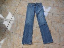 H9353 LEVIS 570 straight fit jeans w28 l34 bleue bien