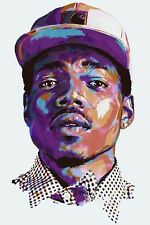 Chance the Rapper Acid Rap Fabric Art Cloth Poster 36inch x 24inch Decor 08