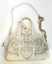 Bally Madrielle White Bowling Bag MSRP $1790
