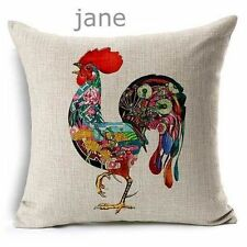 U.S. SELLER Colorful Print Home Bed Decor Cushion Pillow Throw Cover
