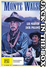 Monte Walsh DVD NEW, FREE POSTAGE WITHIN AUSTRALIA REGION ALL