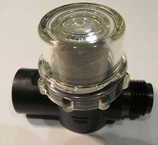 """SHURFLO WATER PUMP STRAINER FILTER 255-213 RV/ CAMPER/ BOAT/ MARINE 1/2"""" x 1/2"""""""